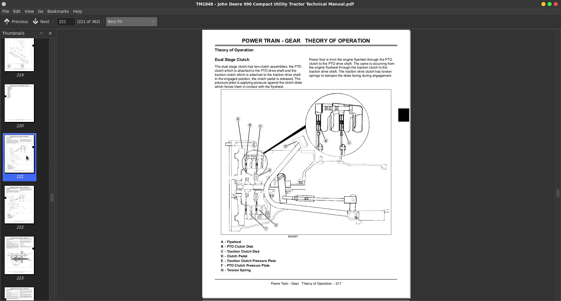 John Deere 990 Compact Utility Tractor Service Technical Manual  Tm1848