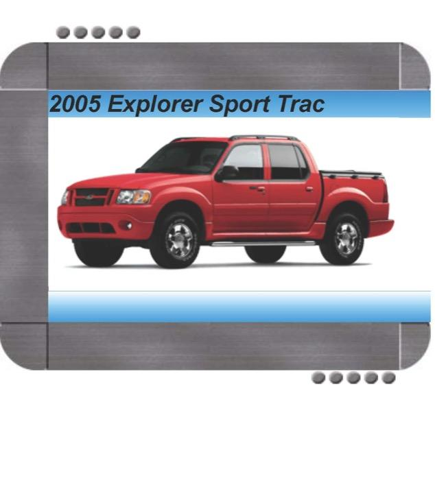 Ford Explorer  Mercury Mountaineer 2005 Repair Service