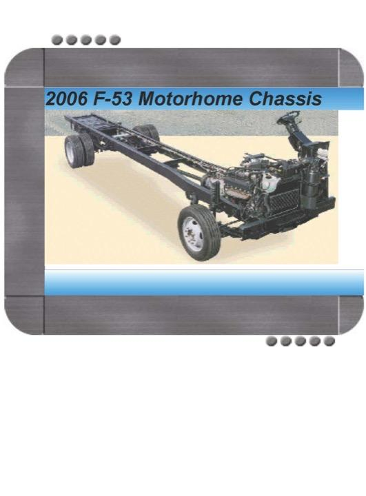Ford F53 Recreational Stripped Chassis 2006 Repair Service Manual