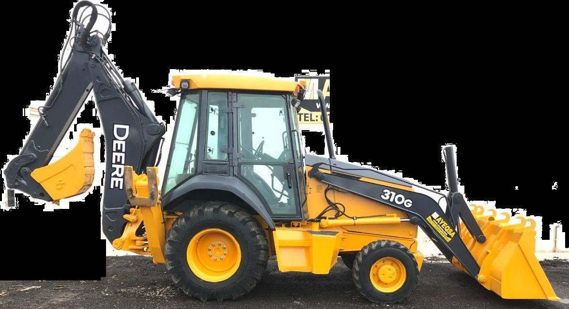 John Deere 310g Backhoe Loader Operation  U0026 Test Service
