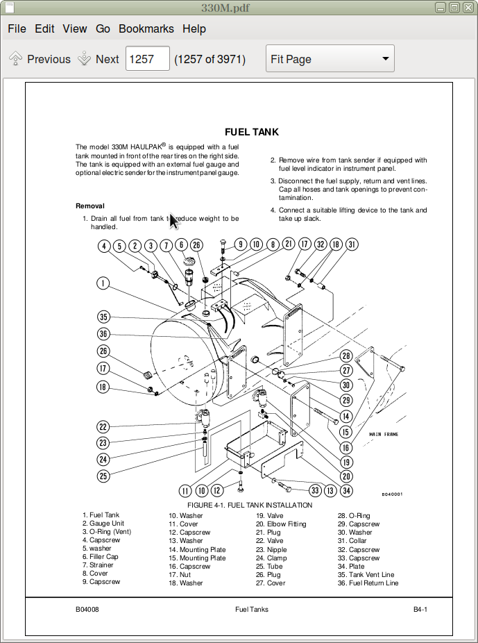 Komatsu Dump Trucks 330M Repair Service Manual & Operation
