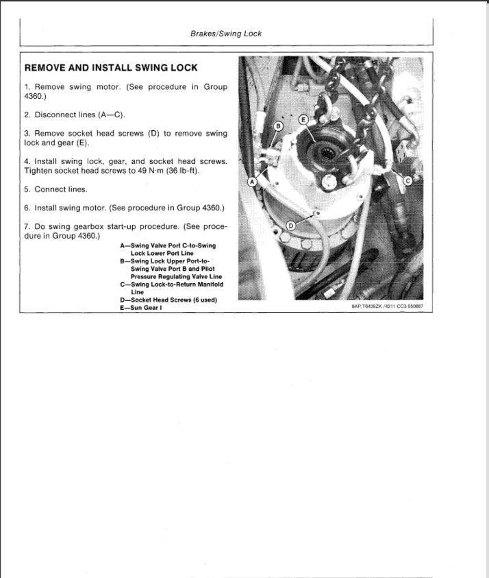 John Deere 750 Excavator Service Repair Manual (TM1810
