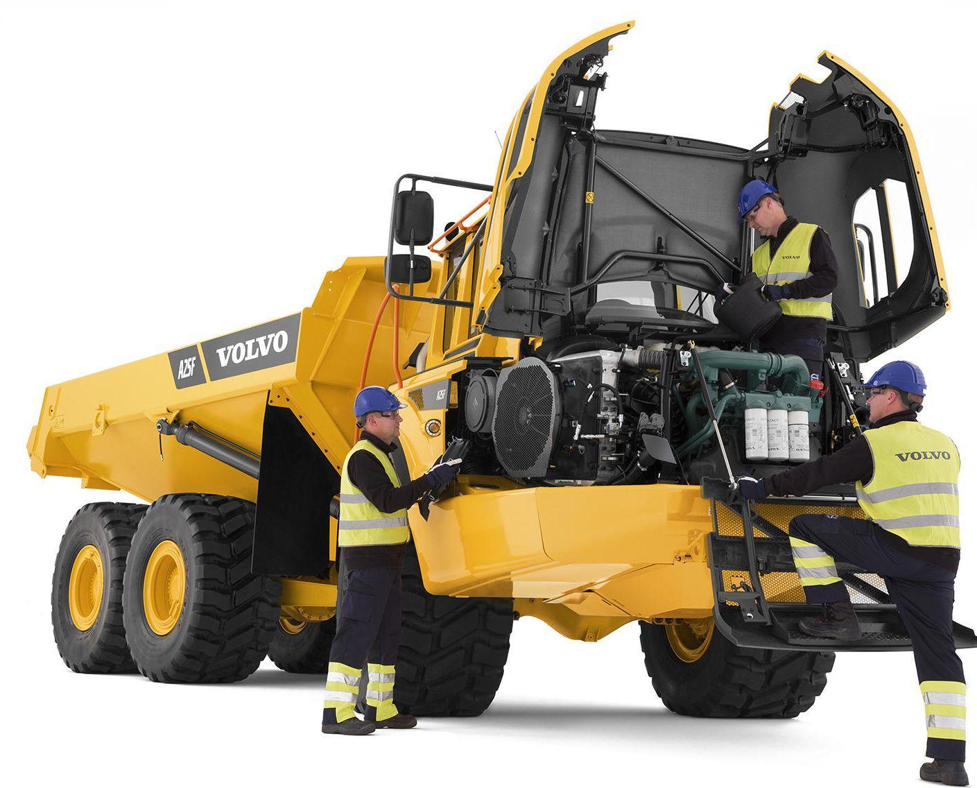 Articulated Haulers A25f Volvo Service Repair Manual