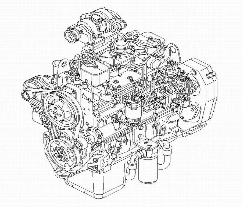 Case & New Holland Engines 445/M2, 445T/M2, 668T/M2 Repair