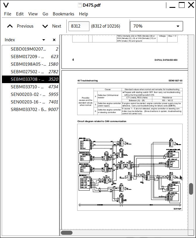 Komatsu Bulldozers D475 Repair Service Manuals