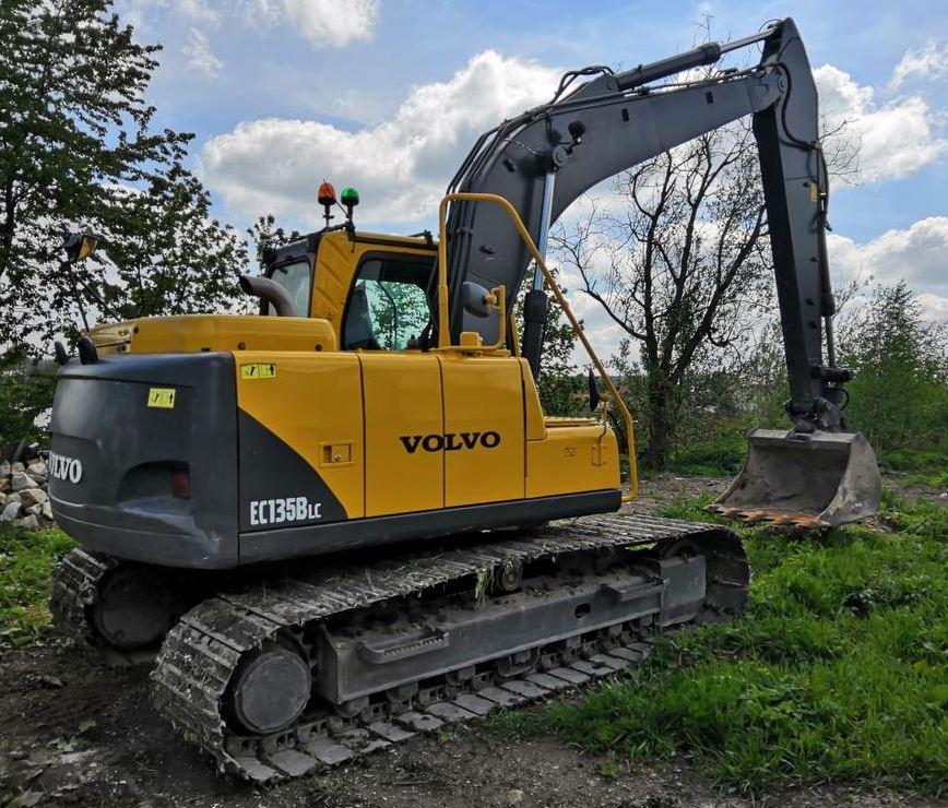 Ec135b Lc Volvo Excavators Service Repair Manual