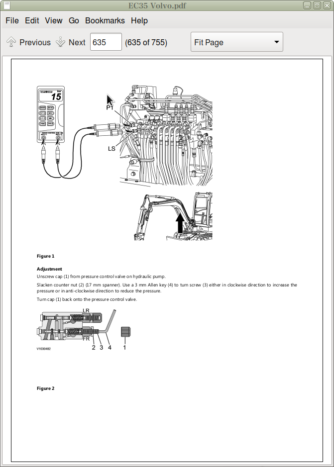 Volvo Ec35 Compact Excavators Service Repair Manual