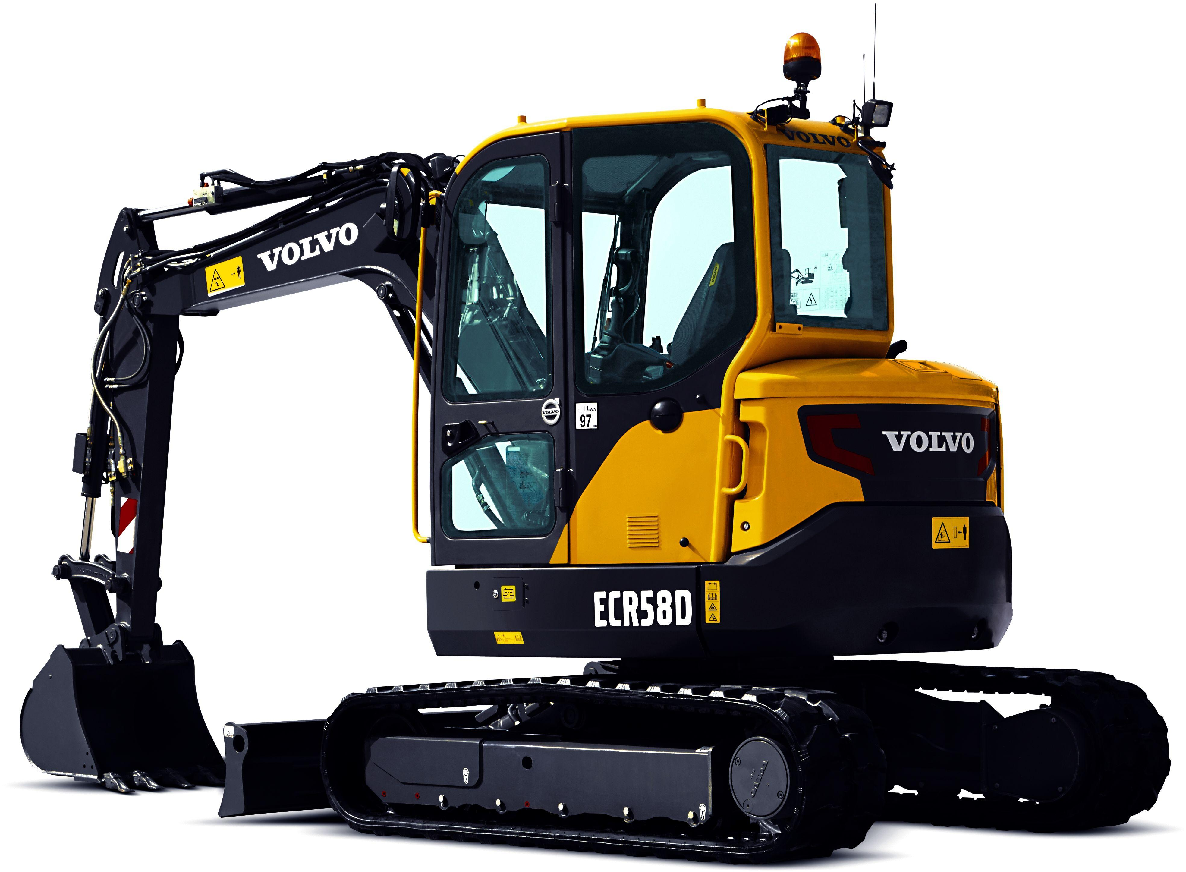 Volvo Ecr58    Ecr58d Compact Excavators Service Repair