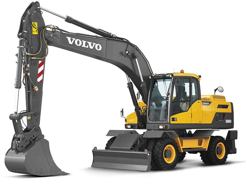 Volvo Ew205d  Ew205e Excavators Service Repair Manual