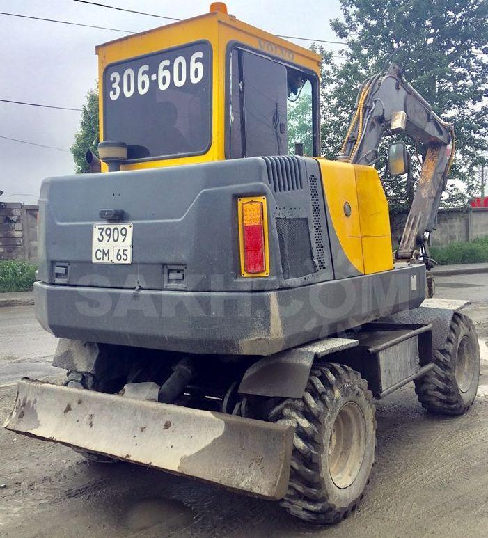 Volvo Ew55    Ew55b Compact Excavators Service Repair