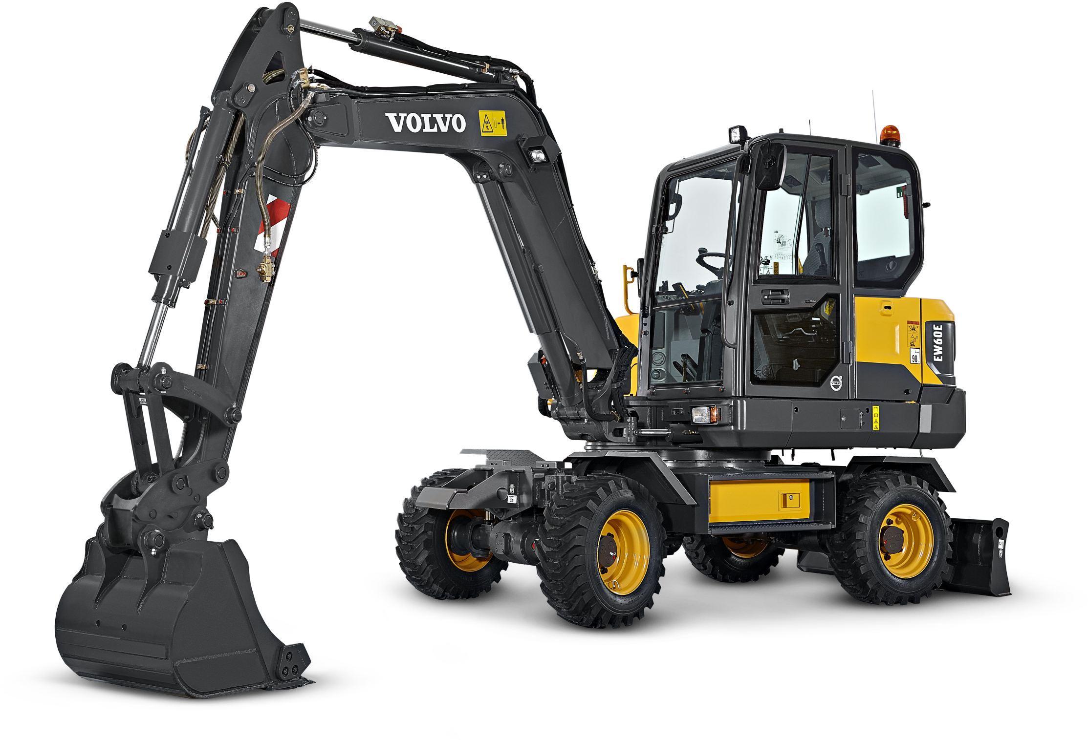 Volvo Ew60c    Ew60e Compact Excavators Service Repair