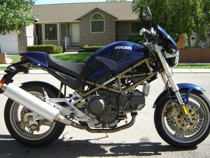 Ducati M600  M750  M900 Monster Repair Service Manual In German