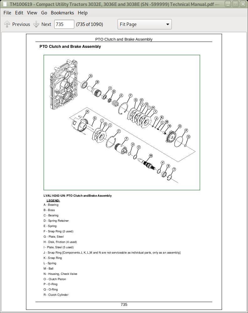 John Deere 3032E, 3036E, 3038E Compact Utility Tractors Service Technical  Manual (TM100619) | A++ Repair Manual StoreA++ Repair Manual Store