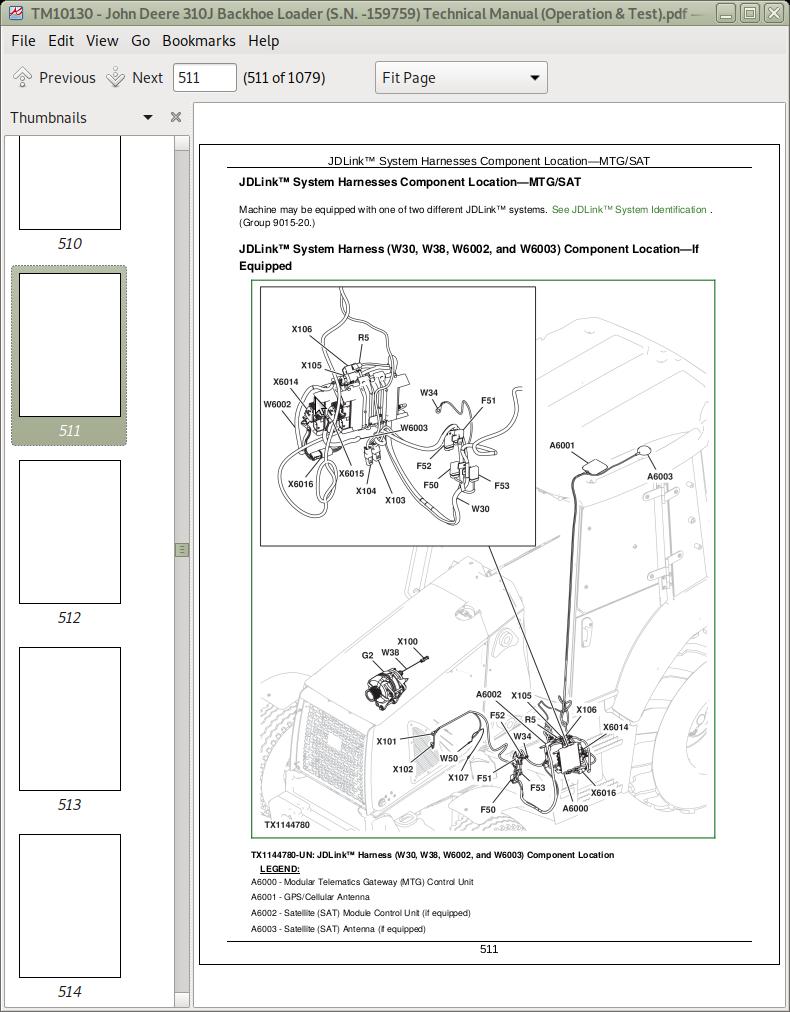 John Deere 310j Backhoe Loader Service Manual  Operation