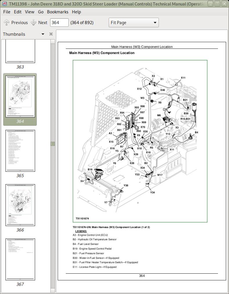 John Deere Skid Steer Controls Manual Guide