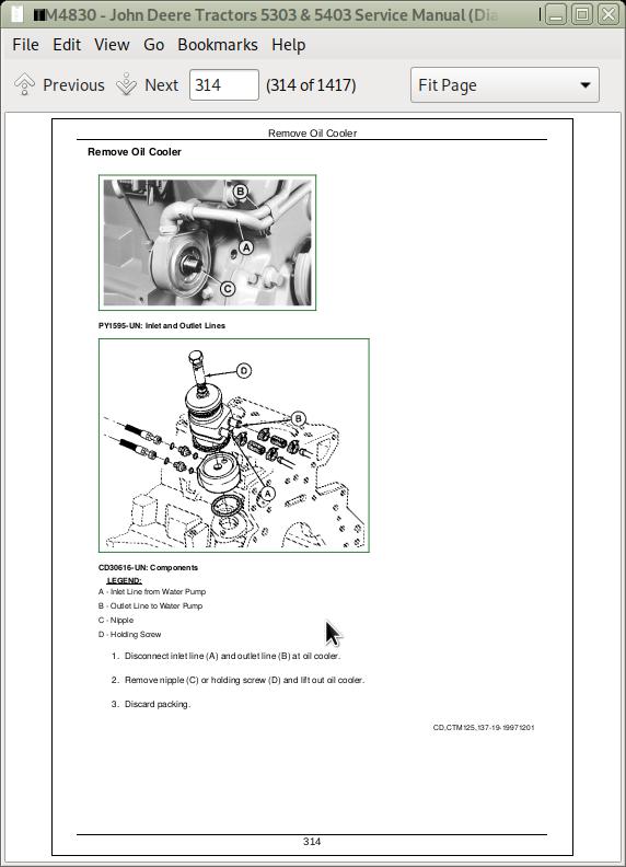 [DIAGRAM_38DE]  John Deere Tractors 5303 & 5403 Diagnostic & Repair Service Manual (TM4830)  | A++ Repair Manual Store | John Deere 5303 Wiring Schematic |  | A++ Repair Manual Store