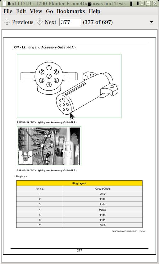 John Deere Planters Models 1790 Diagnosis and Tests Service Technical Manual  (TM111719)   A++ Repair Manual StoreA++ Repair Manual Store