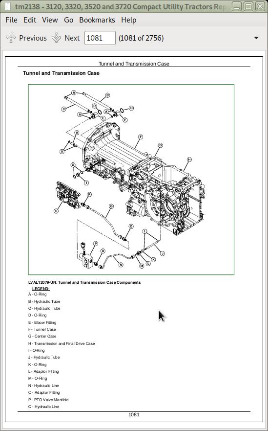 John Deere 3120, 3320, 3520, 3720 Compact Utility Tractors Service  Technical Manual (TM2138)   A++ Repair Manual StoreA++ Repair Manual Store