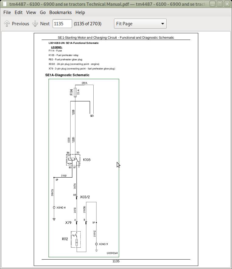 John Deere Tractors 6100, 6100SE, 6200, 6200SE, 6300, 6300SE, 6400, 6400SE,  6506, 6800, 6900, 6600 Diagnosis and Tests Service Technical Manual  (TM4487)   A++ Repair Manual StoreA++ Repair Manual Store
