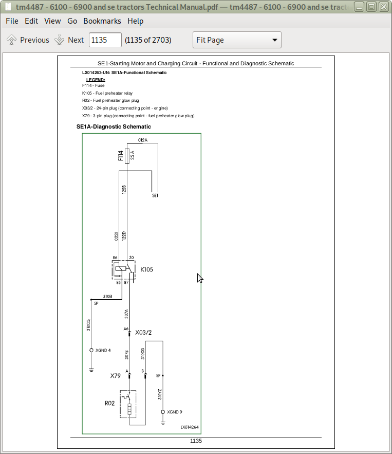 [EQHS_1162]  John Deere Tractors 6100, 6100SE, 6200, 6200SE, 6300, 6300SE, 6400, 6400SE,  6506, 6800, 6900, 6600 Diagnosis and Tests Service Technical Manual  (TM4487) | A++ Repair Manual Store | John Deere 6400 Wiring Diagram |  | A++ Repair Manual Store