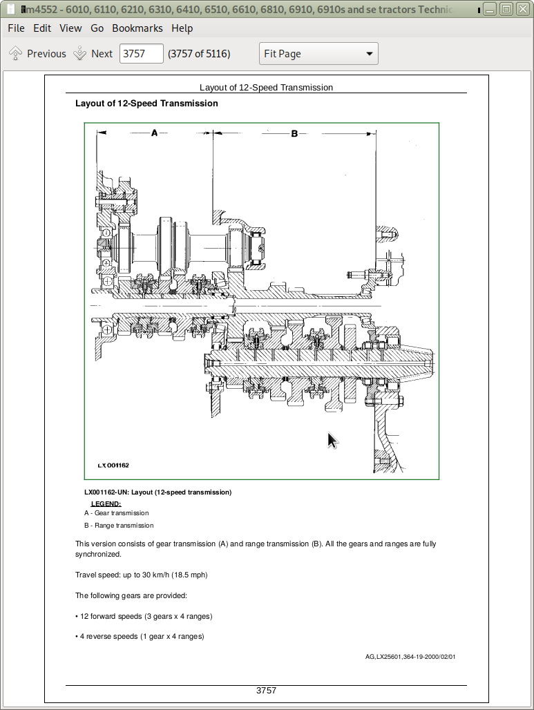 John Deere Tractors 6010, SE6010, 6110, SE6110, 6210, 6310, 6410, SE6410,  6510, SE6510, 6610, SE6610, 6810, 6910, 6910S Diagnosis and Tests Service  Technical Manual   A++ Repair Manual StoreA++ Repair Manual Store