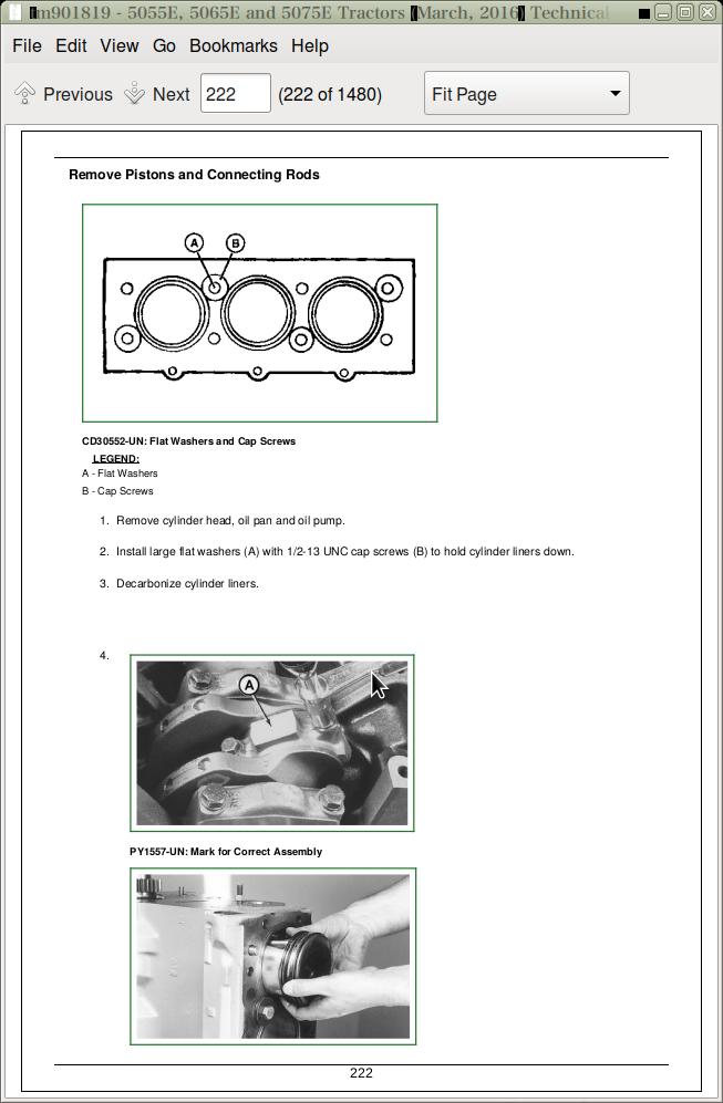 John Deere Tractors 5055e  5065e  5075e Diagnostic And Repair Service Manual  Tm901819